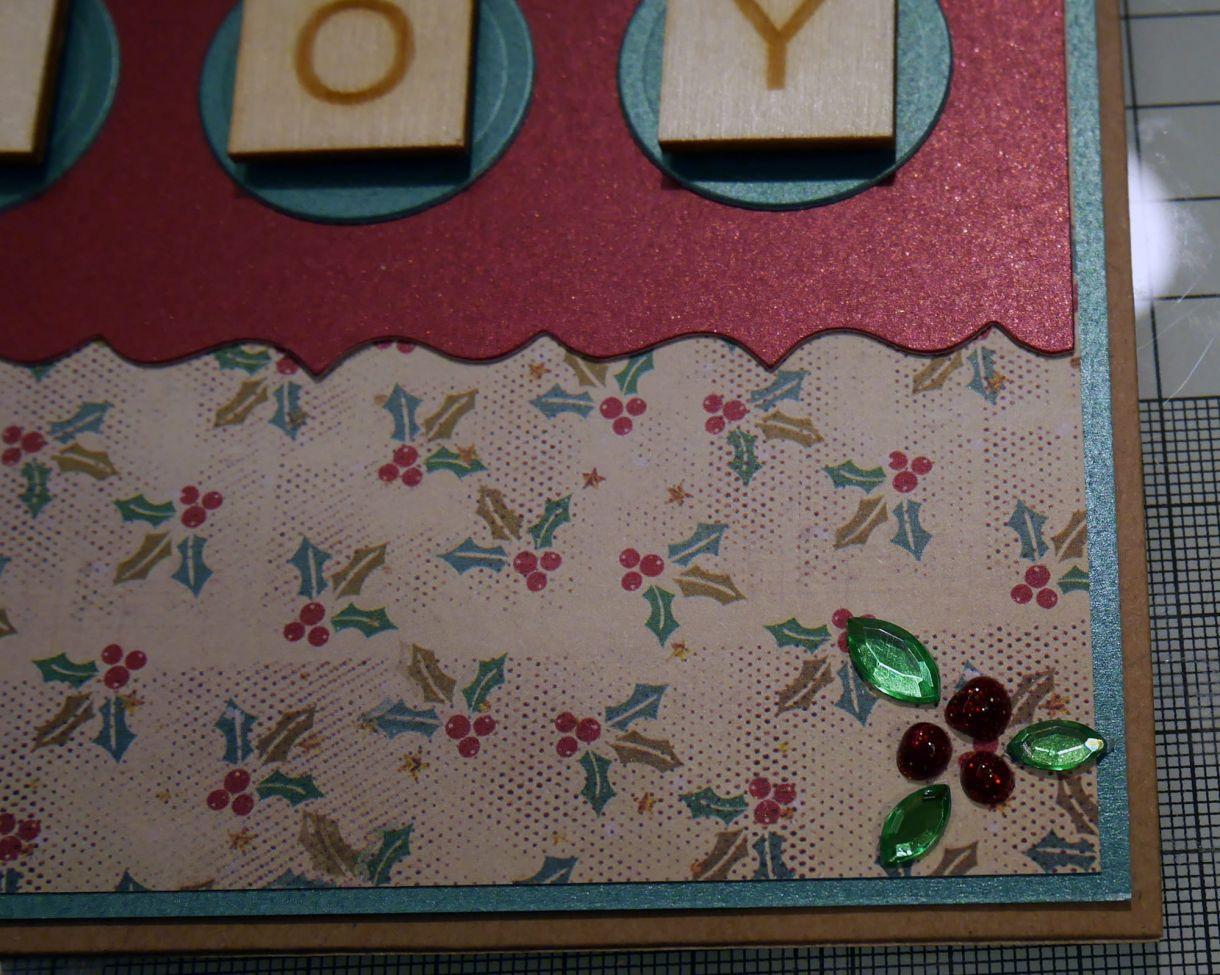 Joy Scrabble Card Nm 9