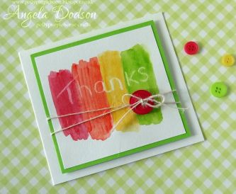 Project - Simple Thank You Card for Kids to Make
