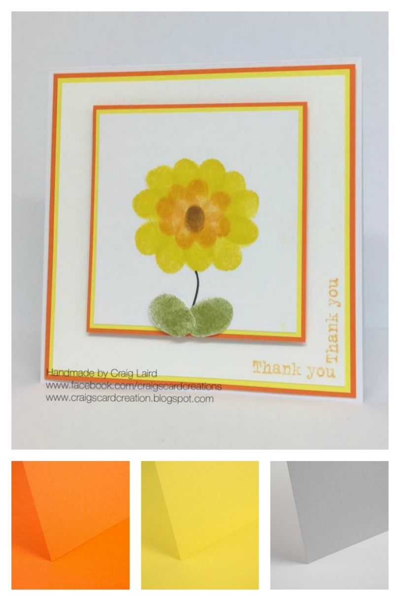 Kids Craft Fun Idea For A Card