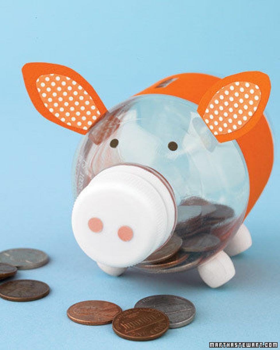 Kids Diy Piggy Money Bank