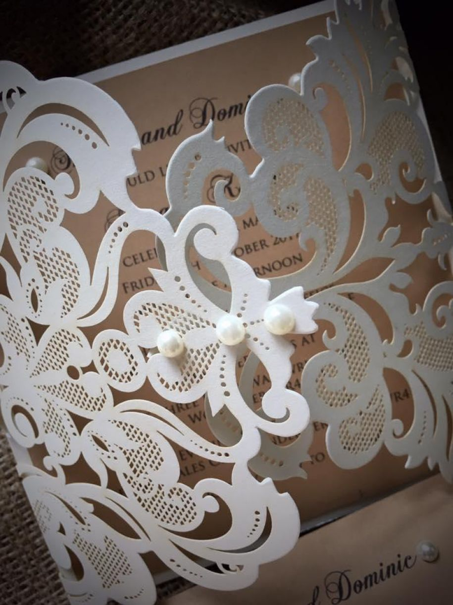 Lasercut Wedding Stationery Designs