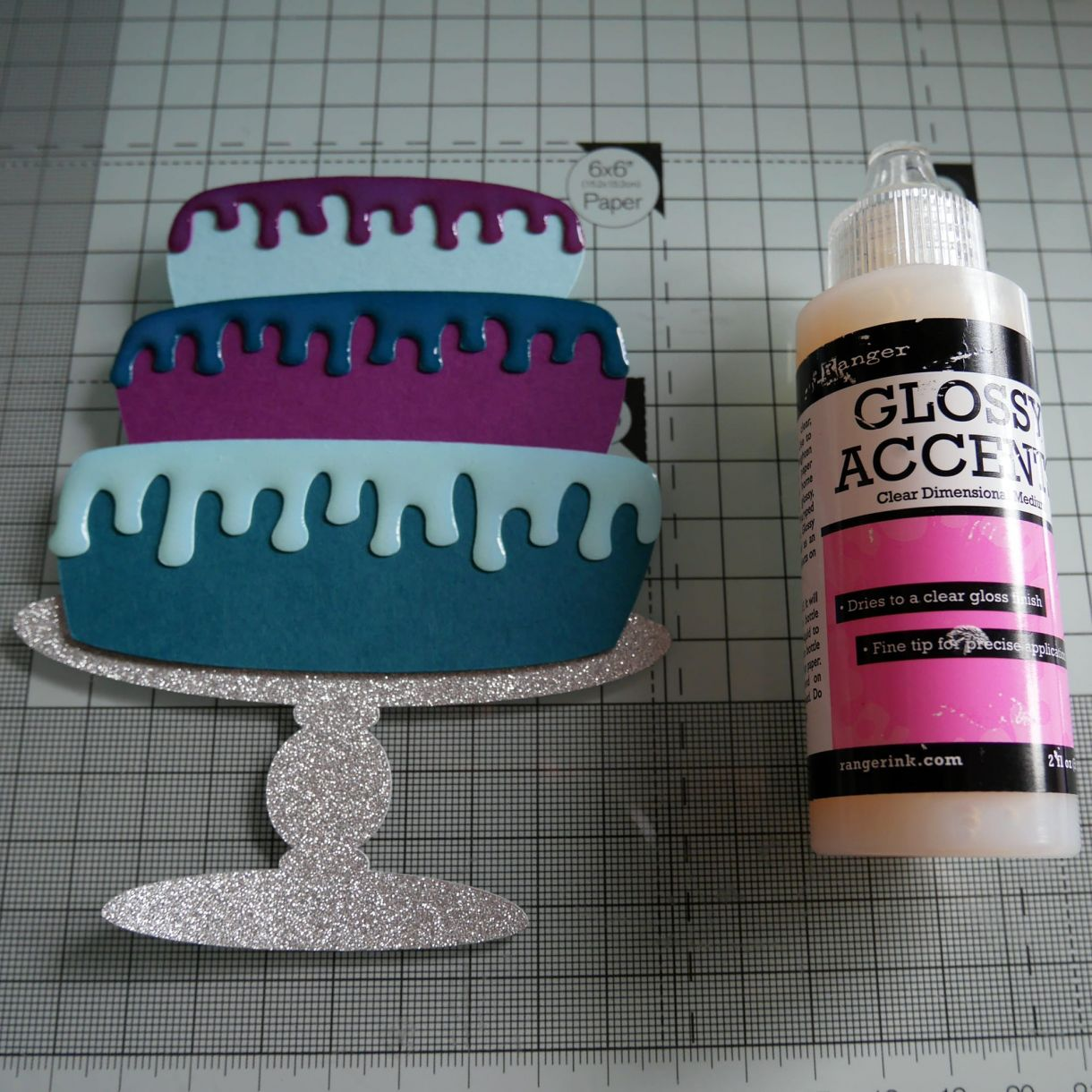 Layered Cake Bday Card Nicole 6