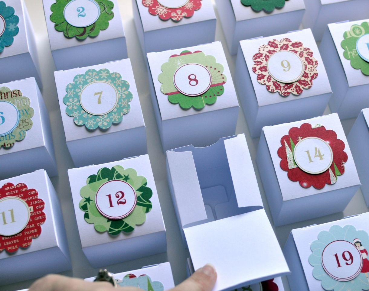 Little Box Advent Calendar Tutorial