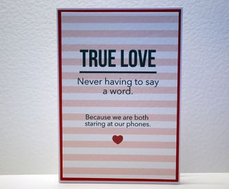 Make a Fun Love Card - Free Printable