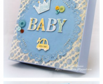 Make a Gift Bag for a New Baby
