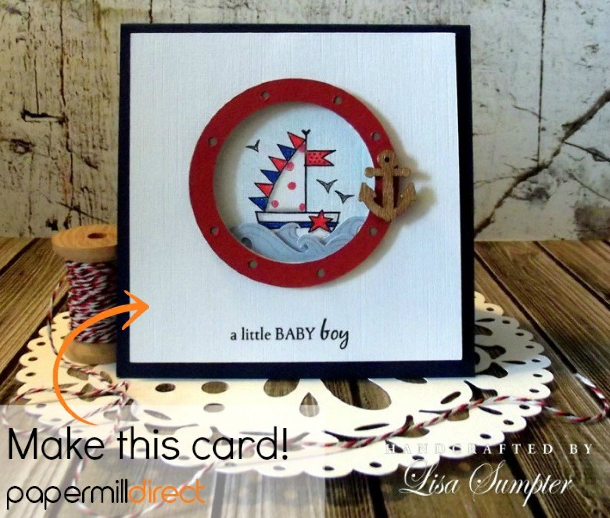 Make A Simple Baby Card