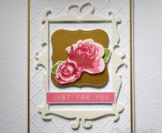 Cardmaking Idea - Just For You
