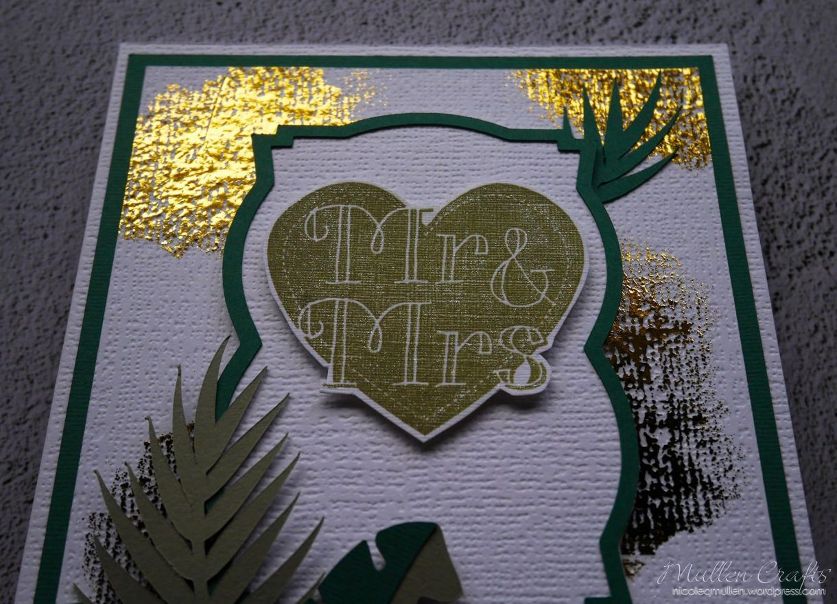 Mr And Mrs Gold Foil Nm 3