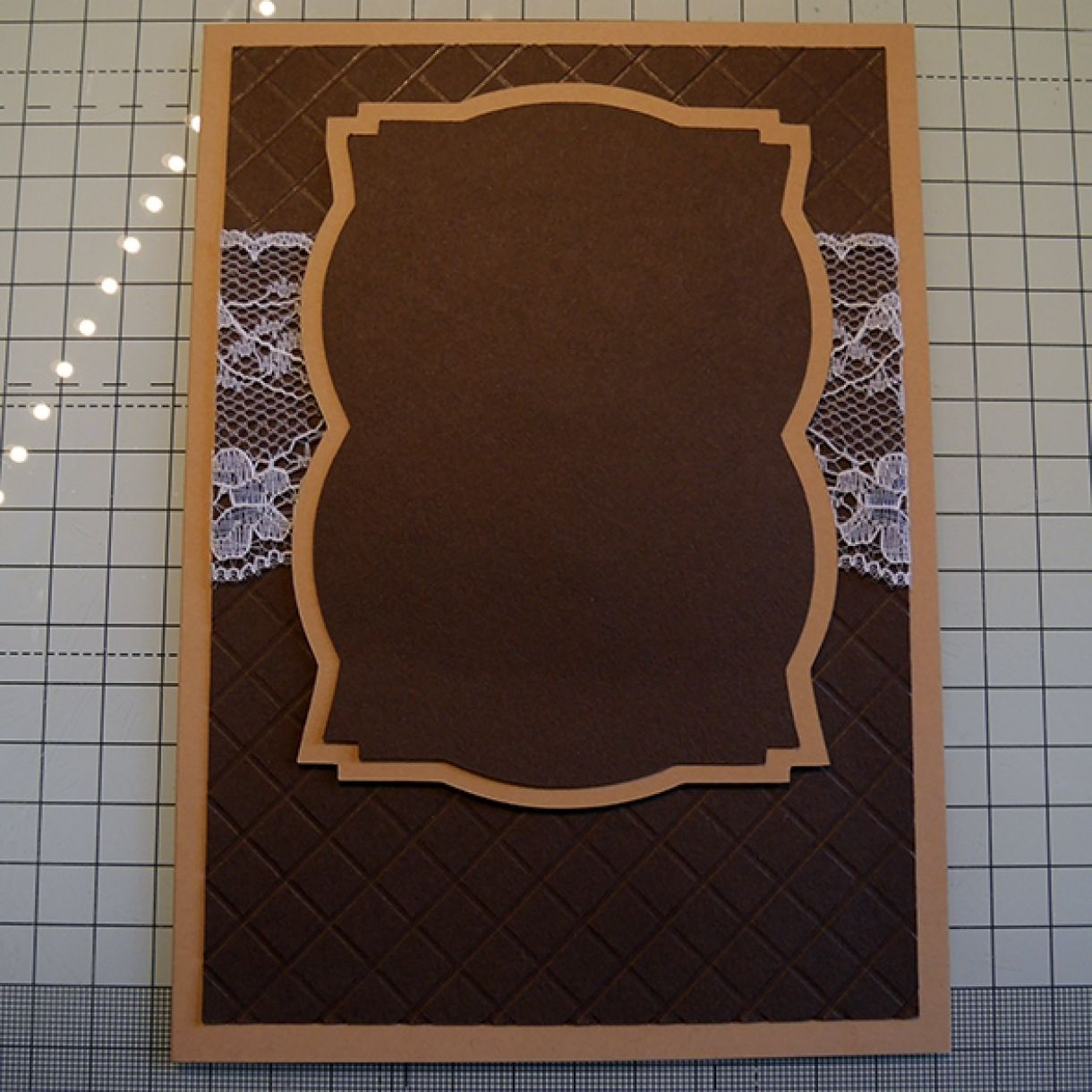Neutrals Wedding Card With Hint Of Shimmer 11