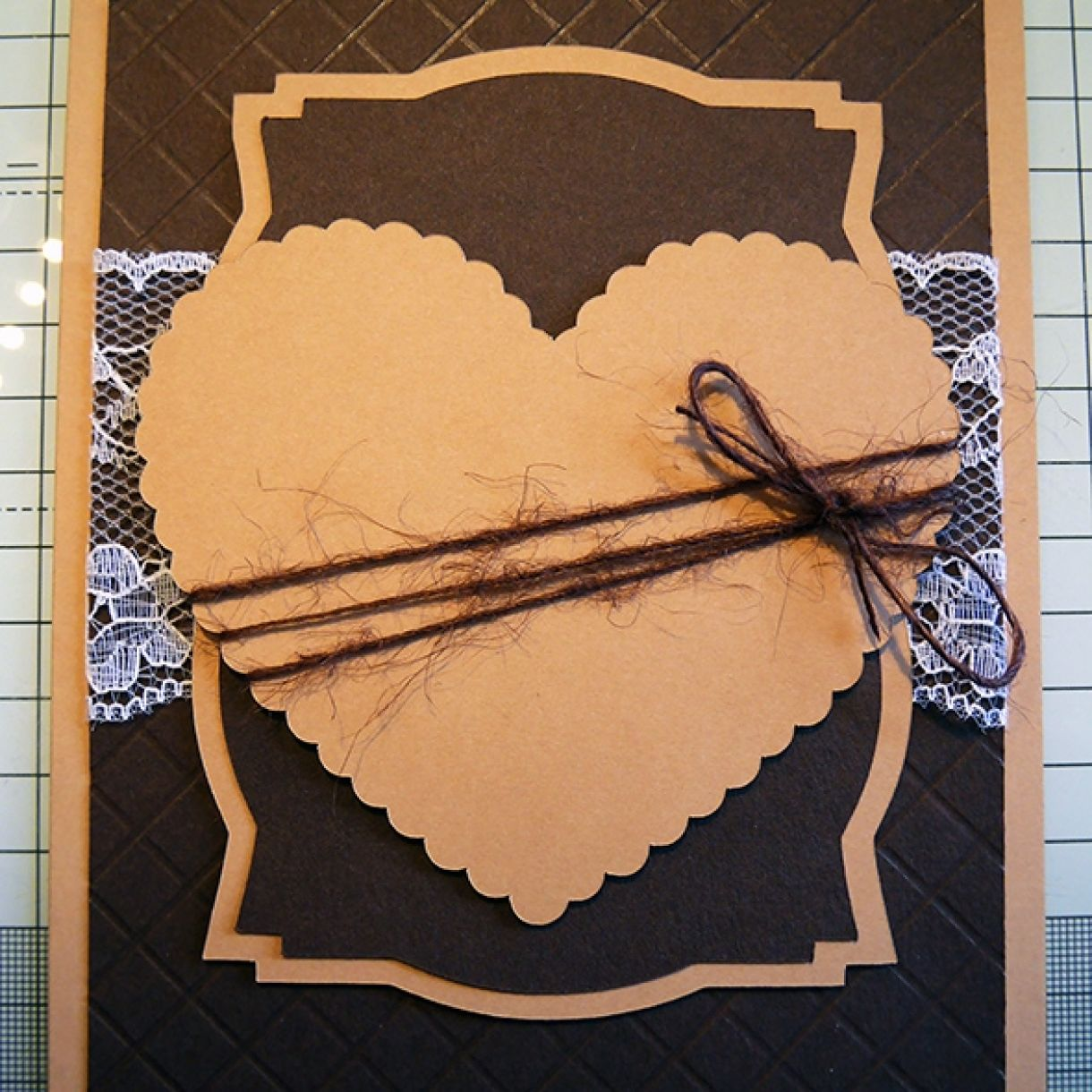 Neutrals Wedding Card With Hint Of Shimmer 13