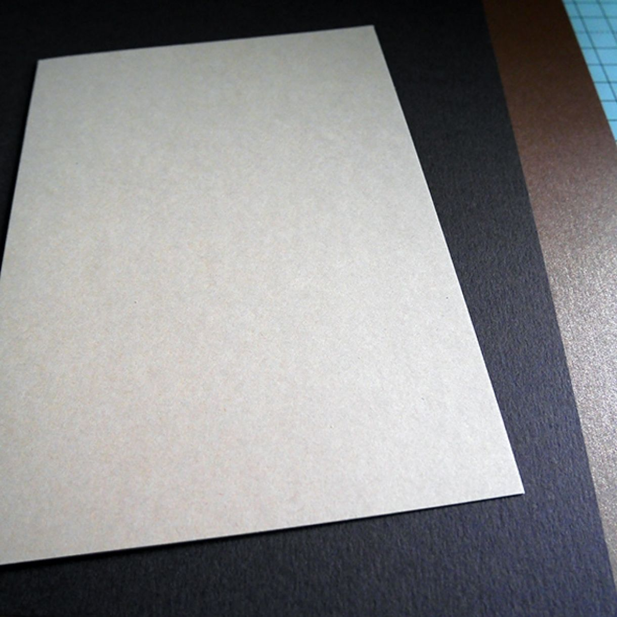 Neutrals Wedding Card With Hint Of Shimmer 1