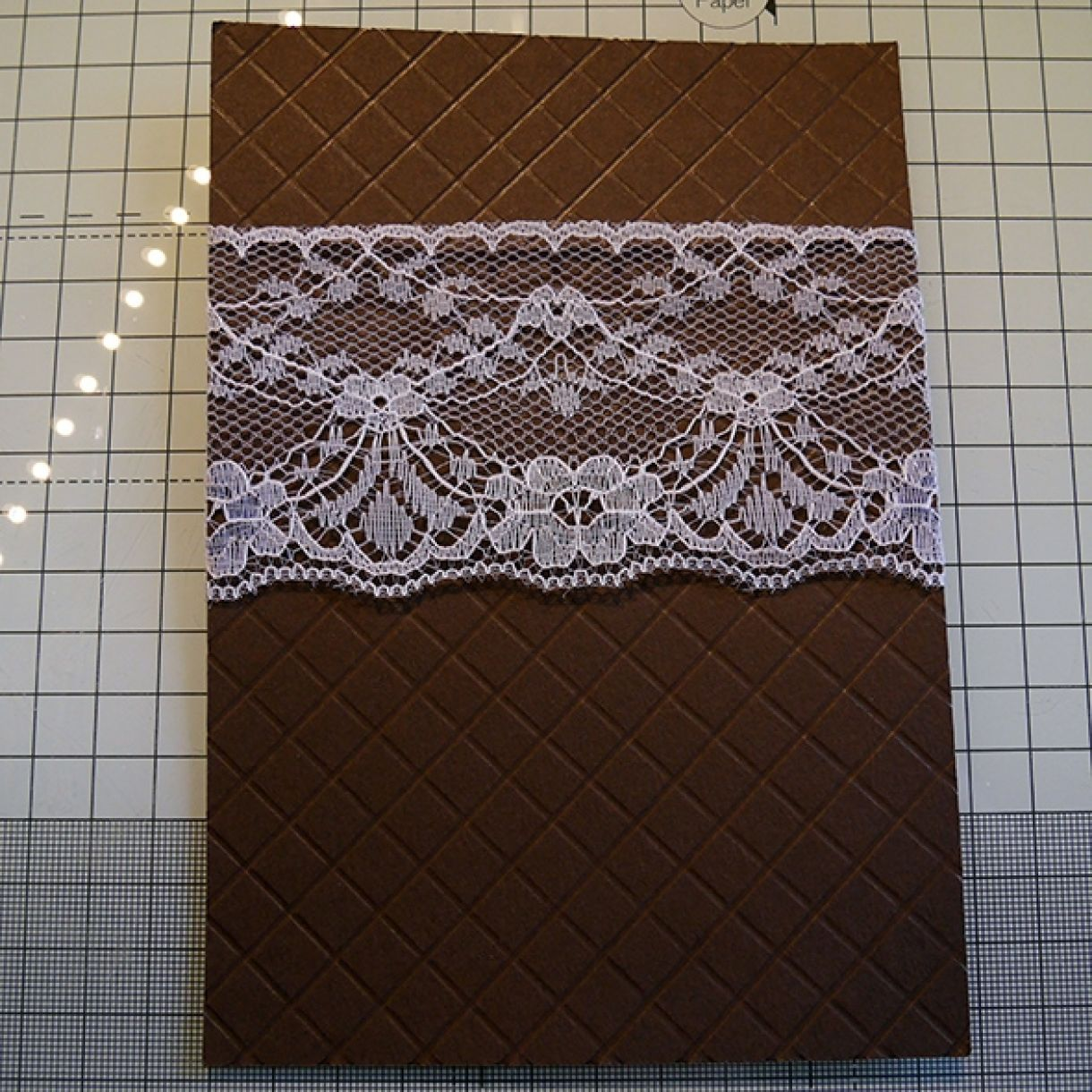 Neutrals Wedding Card With Hint Of Shimmer 9
