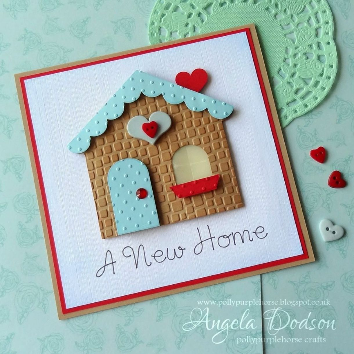Good Card Making Ideas For Moving House Part - 14: New Home Card Inspiration