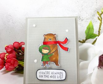 You're Always on The Nice List Card