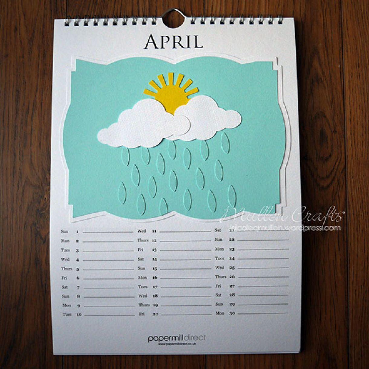 Nicole 2018 Calendar April1