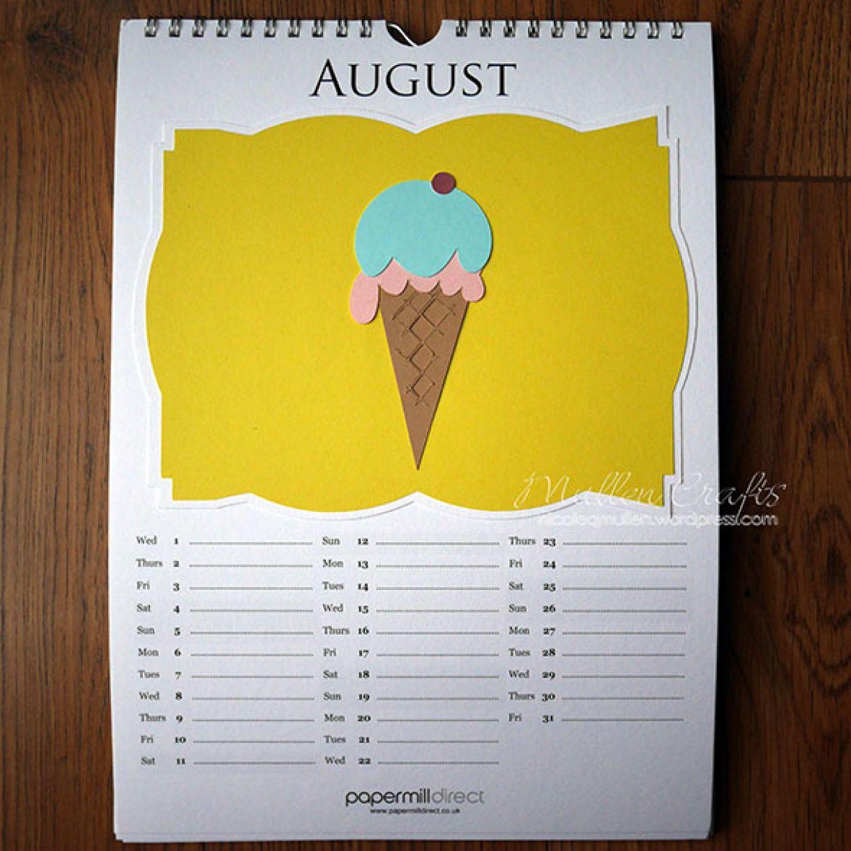 Nicole 2018 Calendar August1