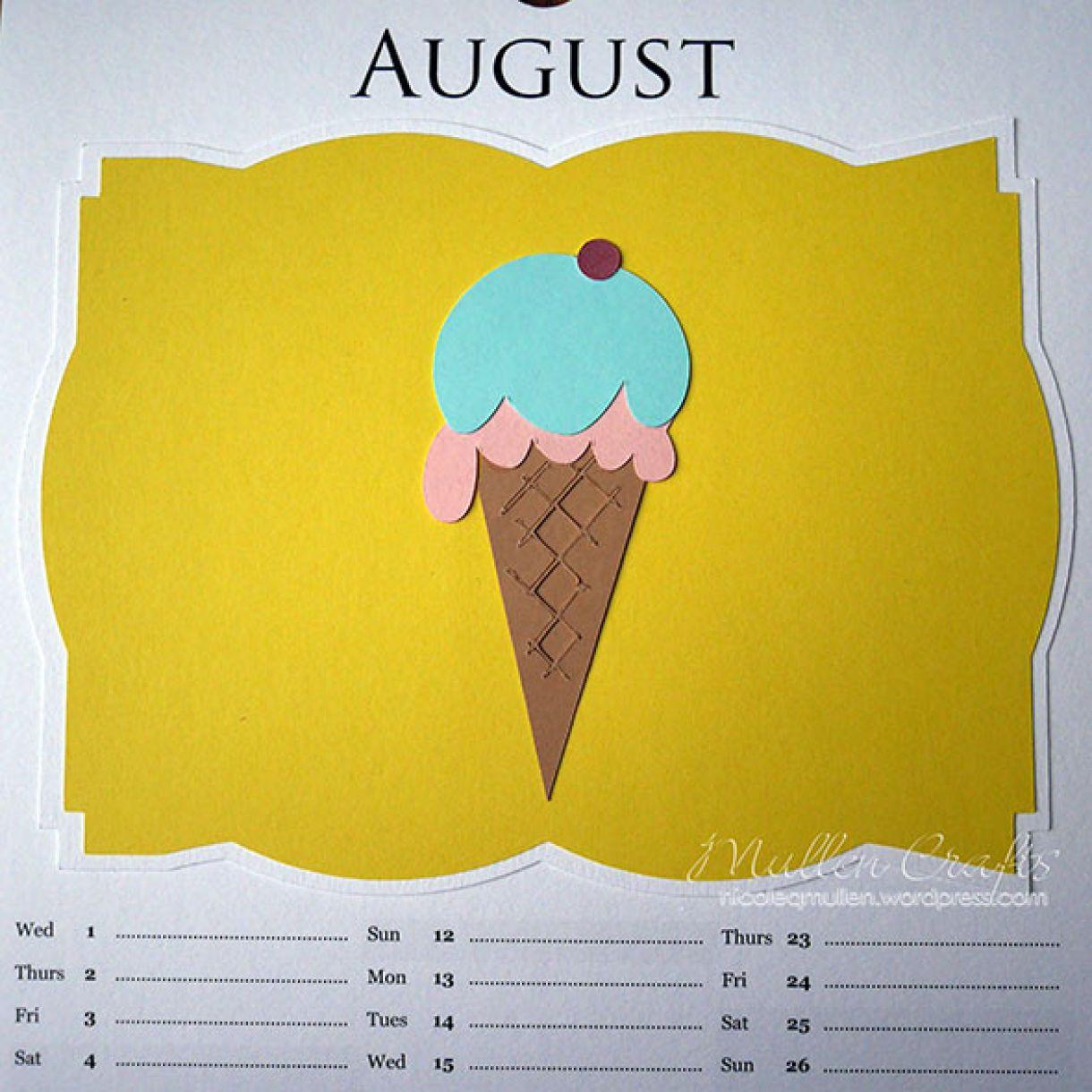 Nicole 2018 Calendar August2