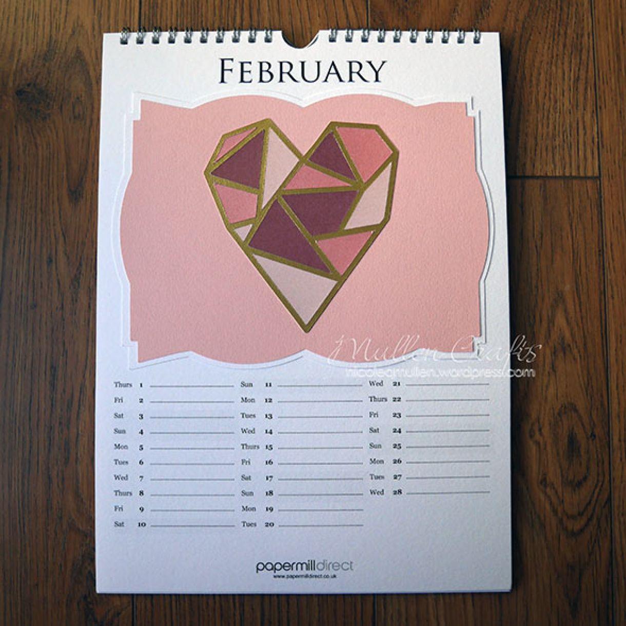 Nicole 2018 Calendar February1