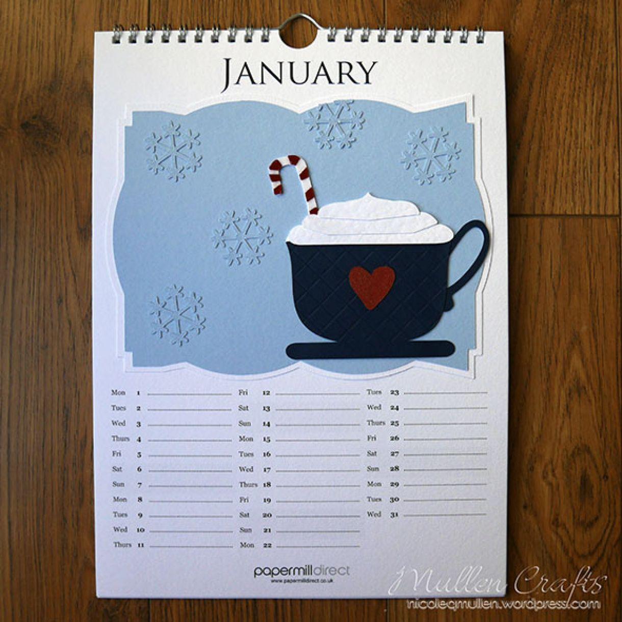 Nicole 2018 Calendar January 1