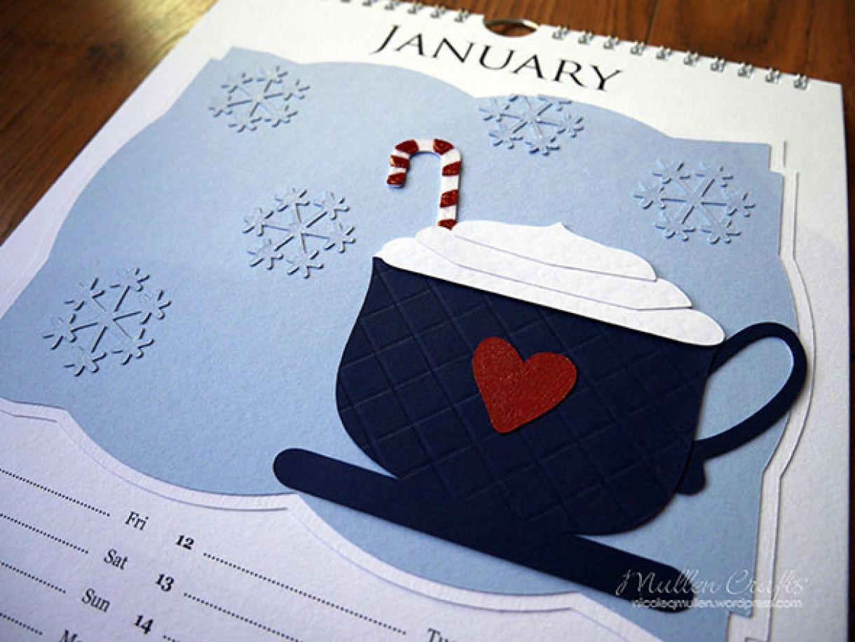 Nicole 2018 Calendar January 2