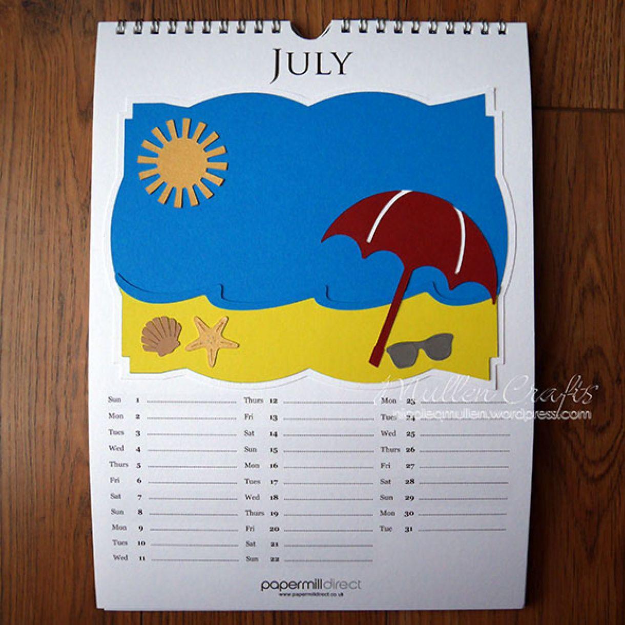 Nicole 2018 Calendar July1