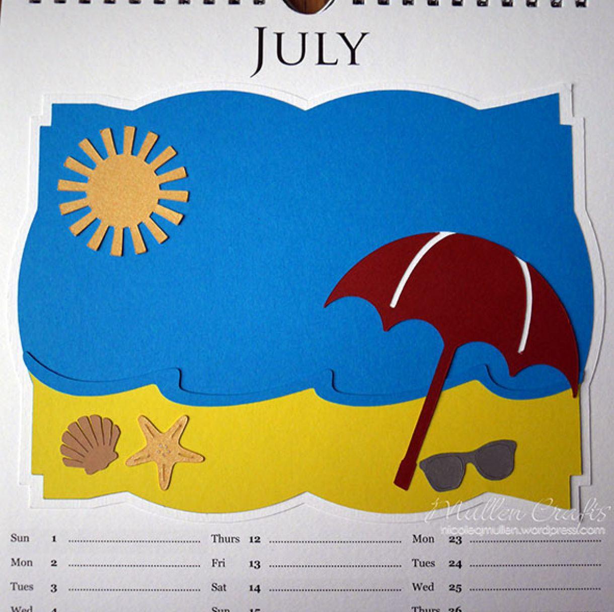 Nicole 2018 Calendar July2