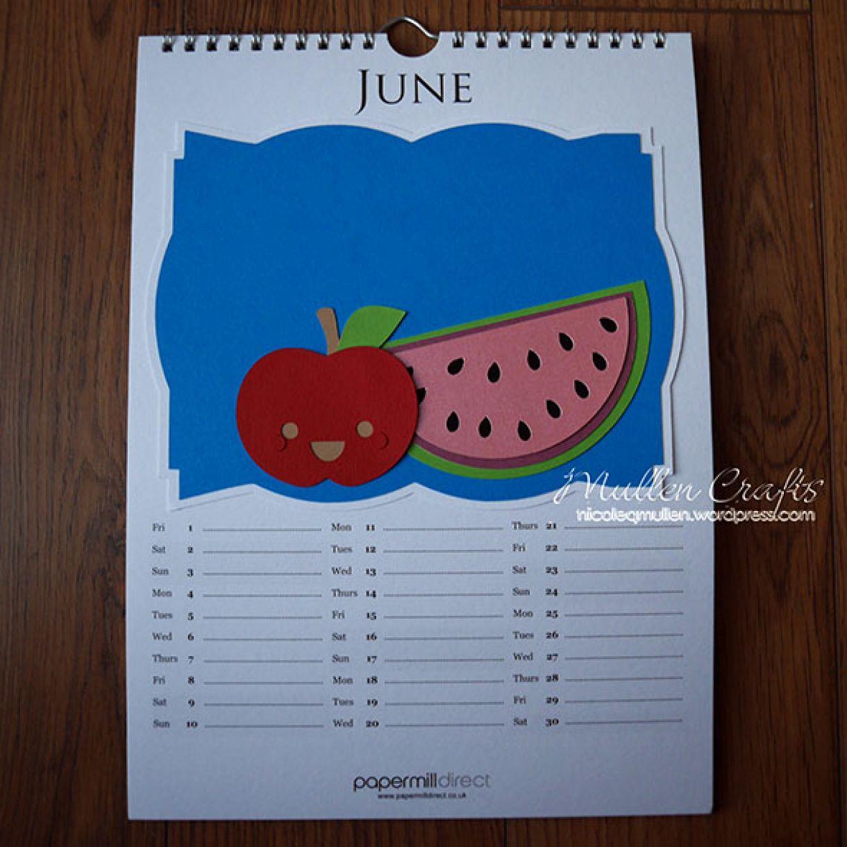 Nicole 2018 Calendar June1