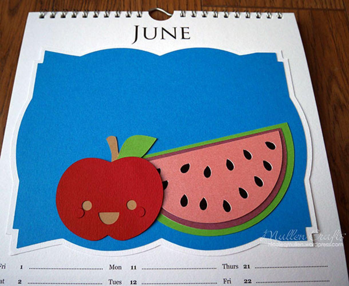 Nicole 2018 Calendar June2