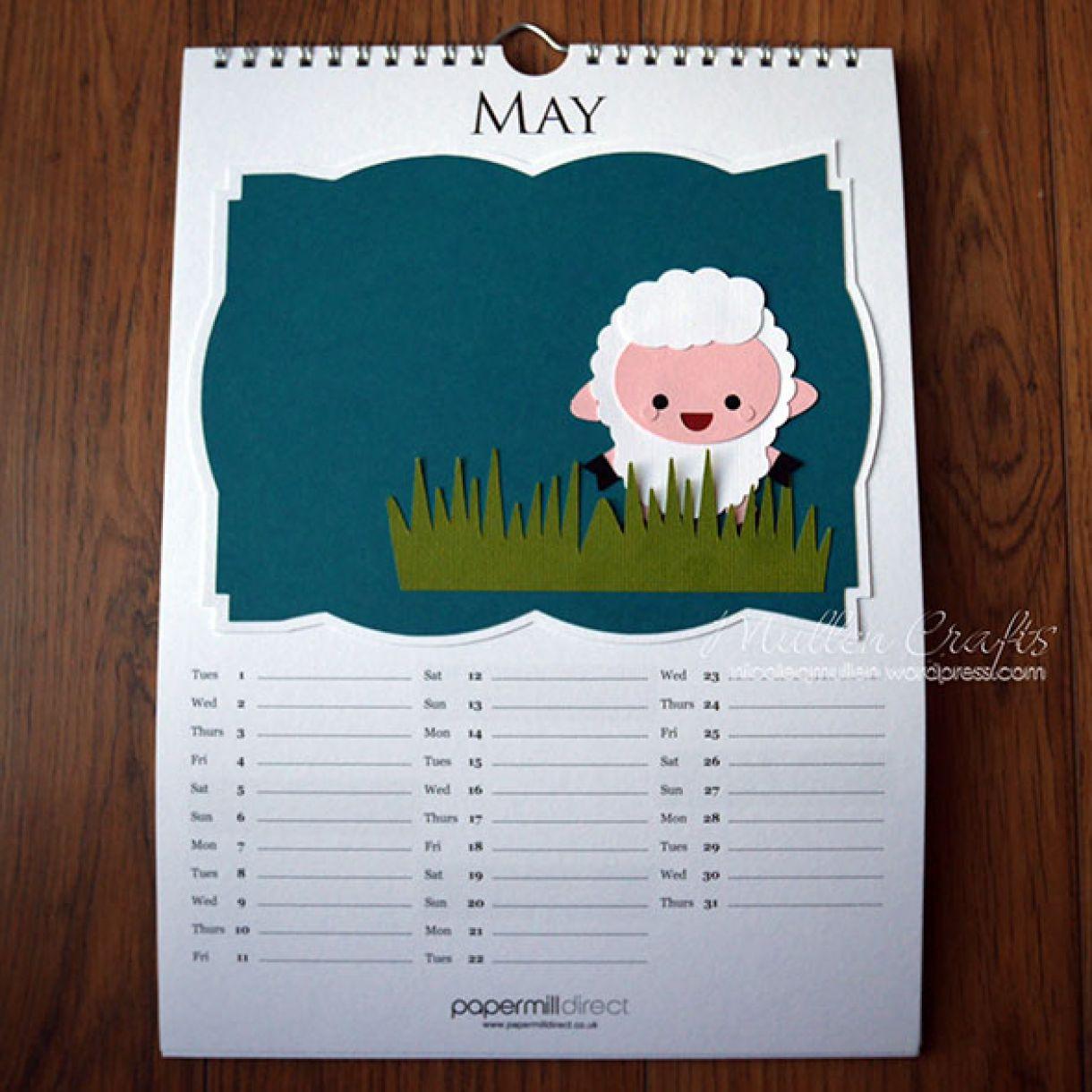 Nicole 2018 Calendar May1