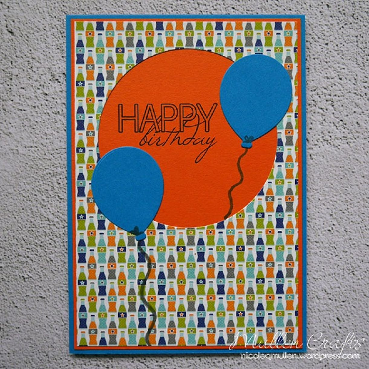 Nicole Balloon Birthday Card 2