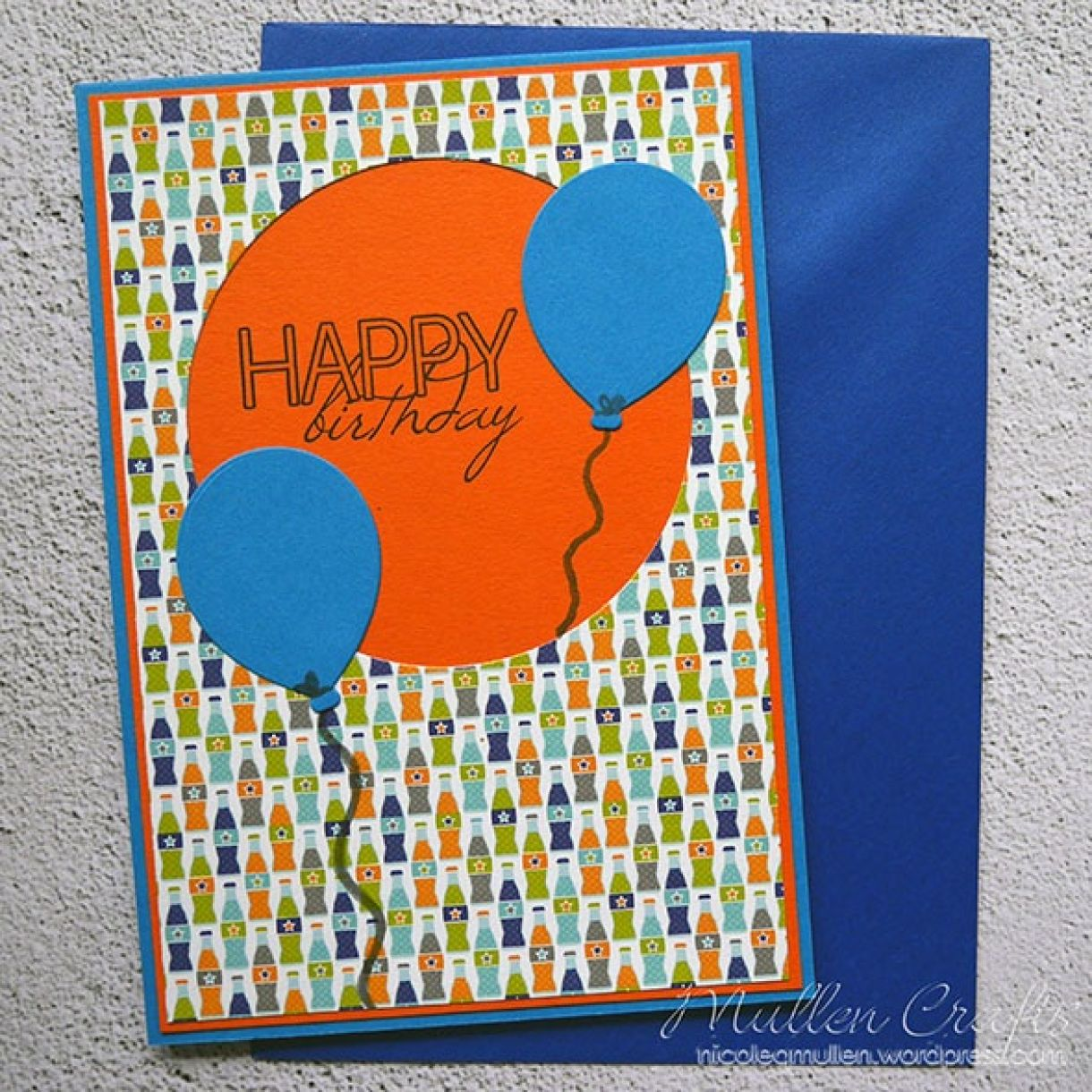 Nicole Balloon Birthday Card 3