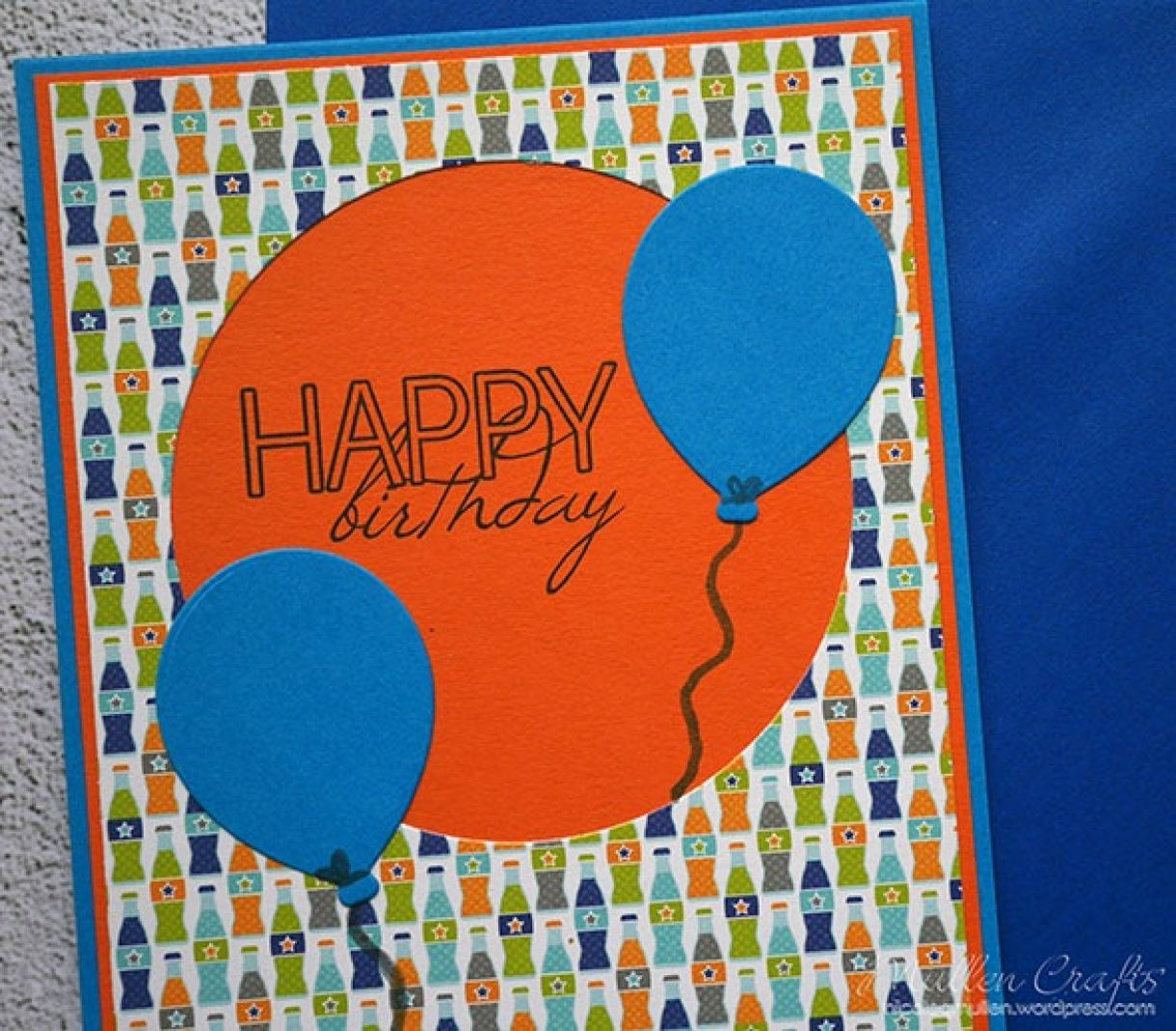 Nicole Balloon Birthday Card 4