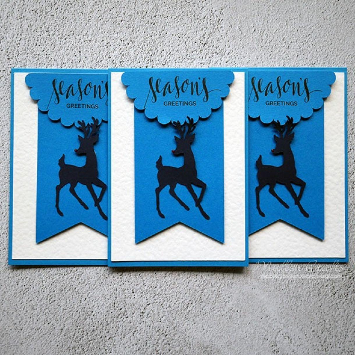 Nicole Batch Reindeer Card 12