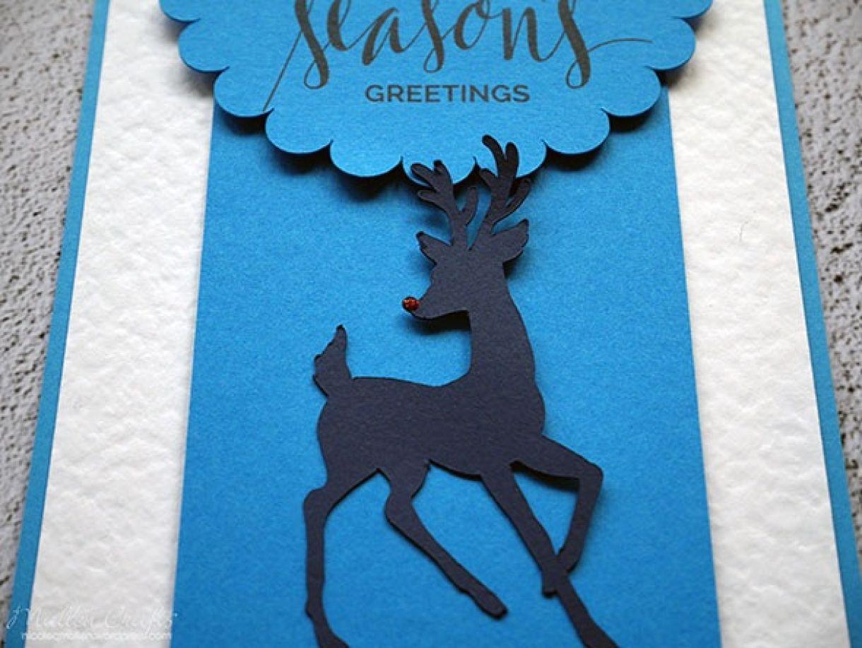 Nicole Batch Reindeer Card 13