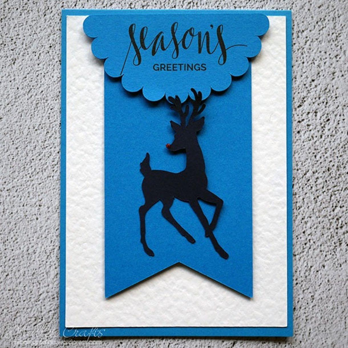 Nicole Batch Reindeer Card 14