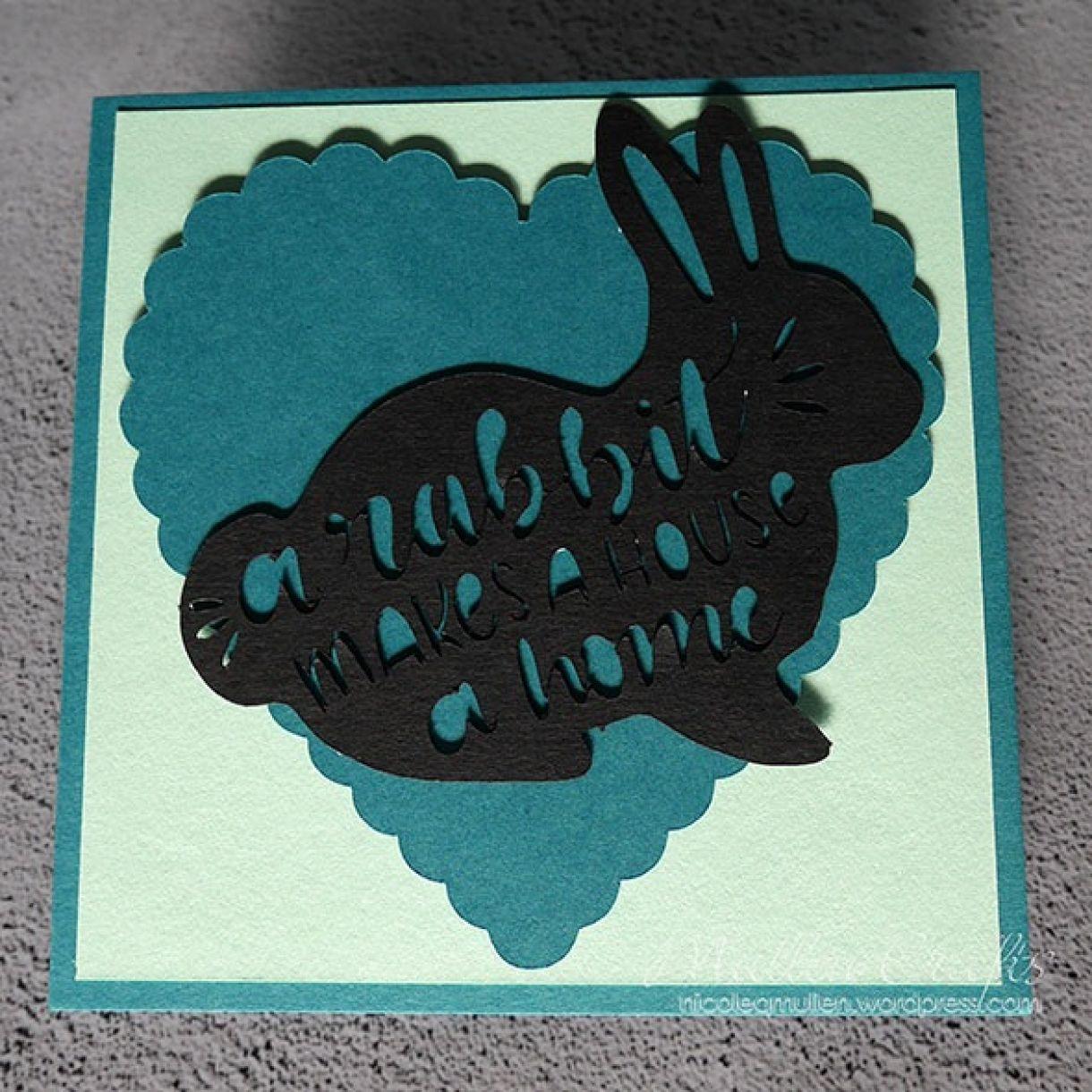Nicole Bunny Card 5