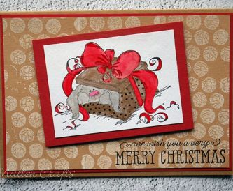 Traditional with a Twist- Christmas Card