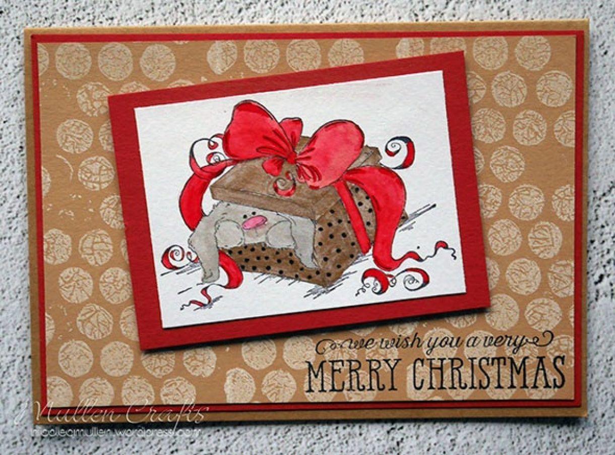 Nicole Bunny Xmas Card 1