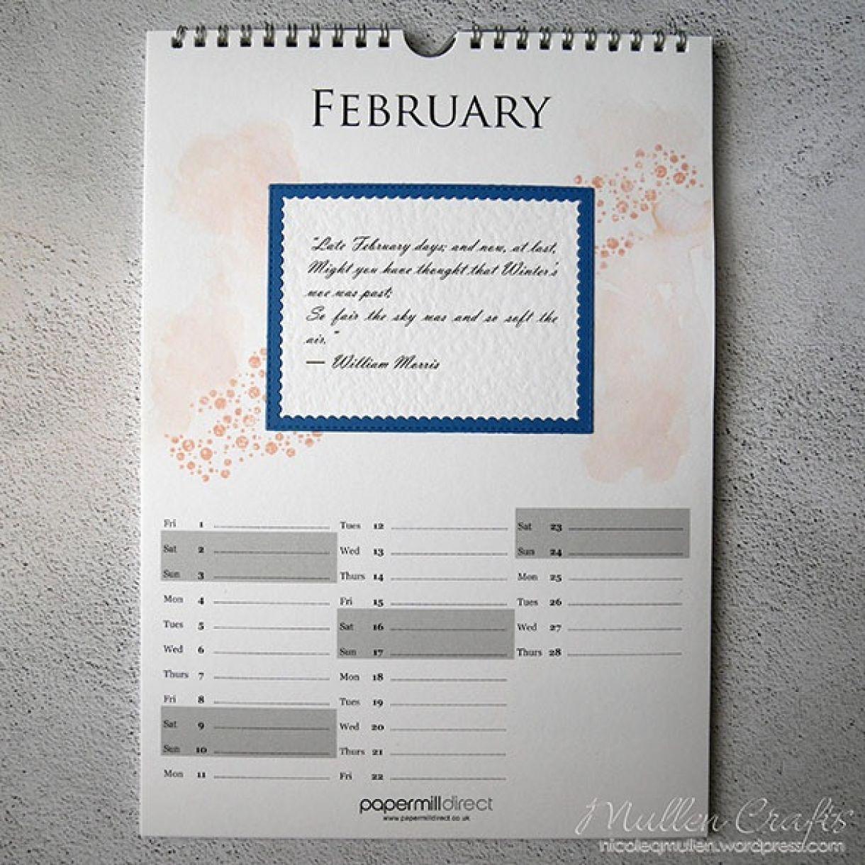 Nicole Calendar Page February1