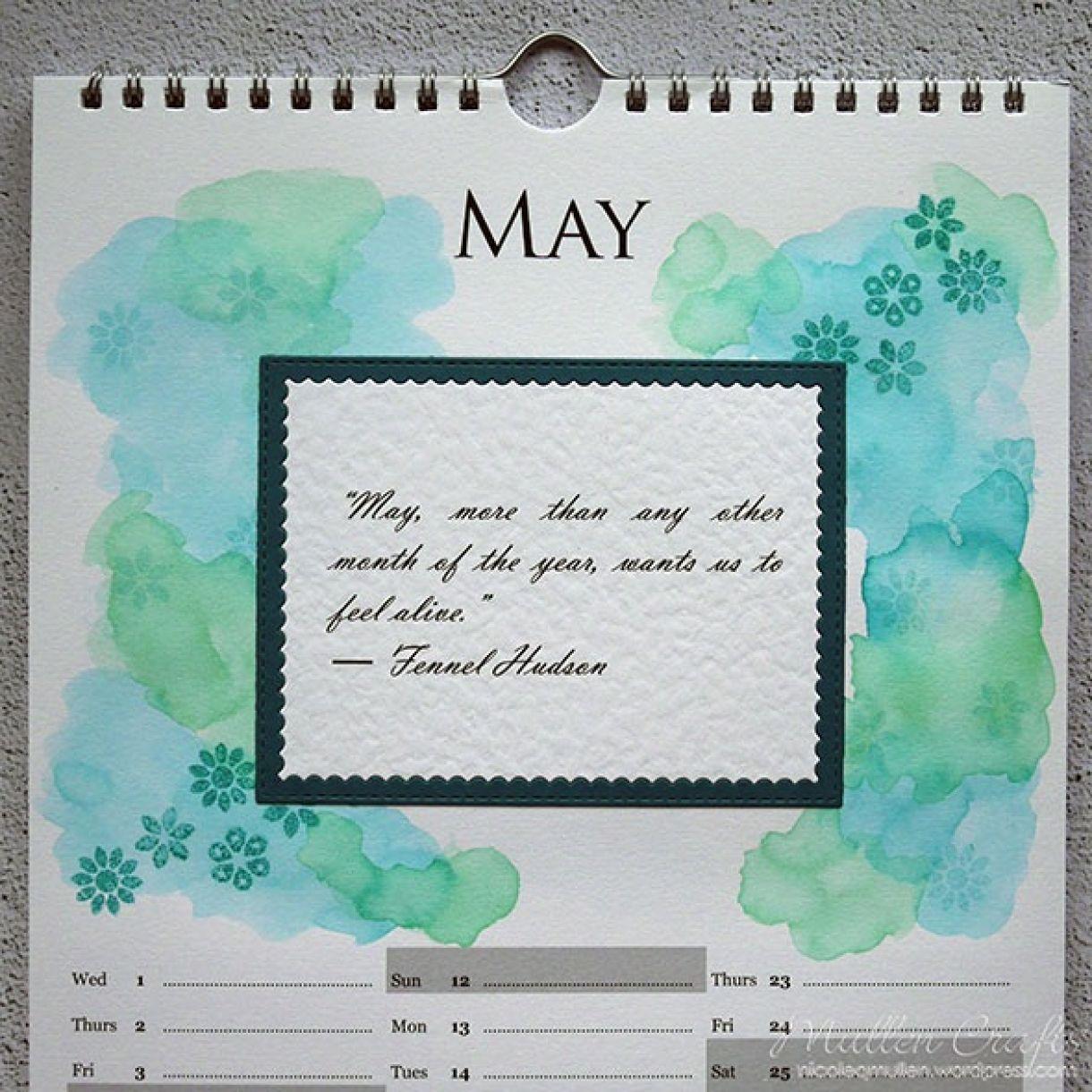 Nicole Calendar Page May 2