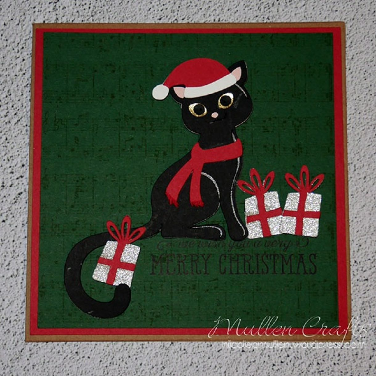 Nicole Cat Xmas Card 1