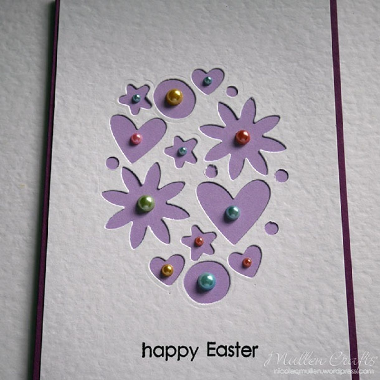 Nicole Easter Egg Mini Die Cuts 8