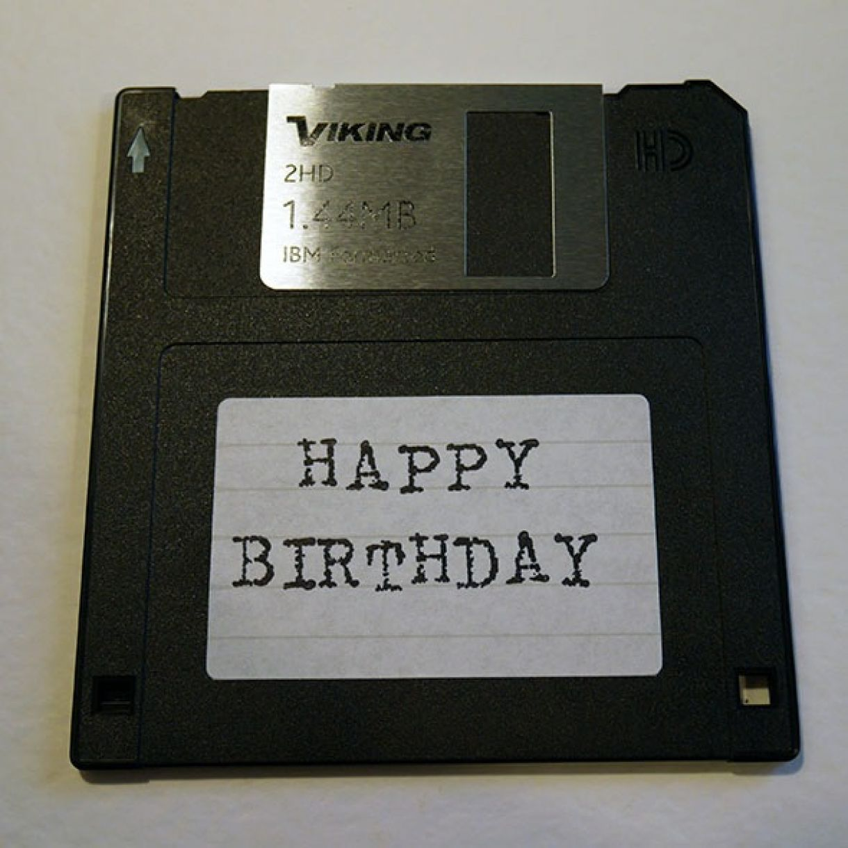 Nicole Floppy Disk Bday Card 5