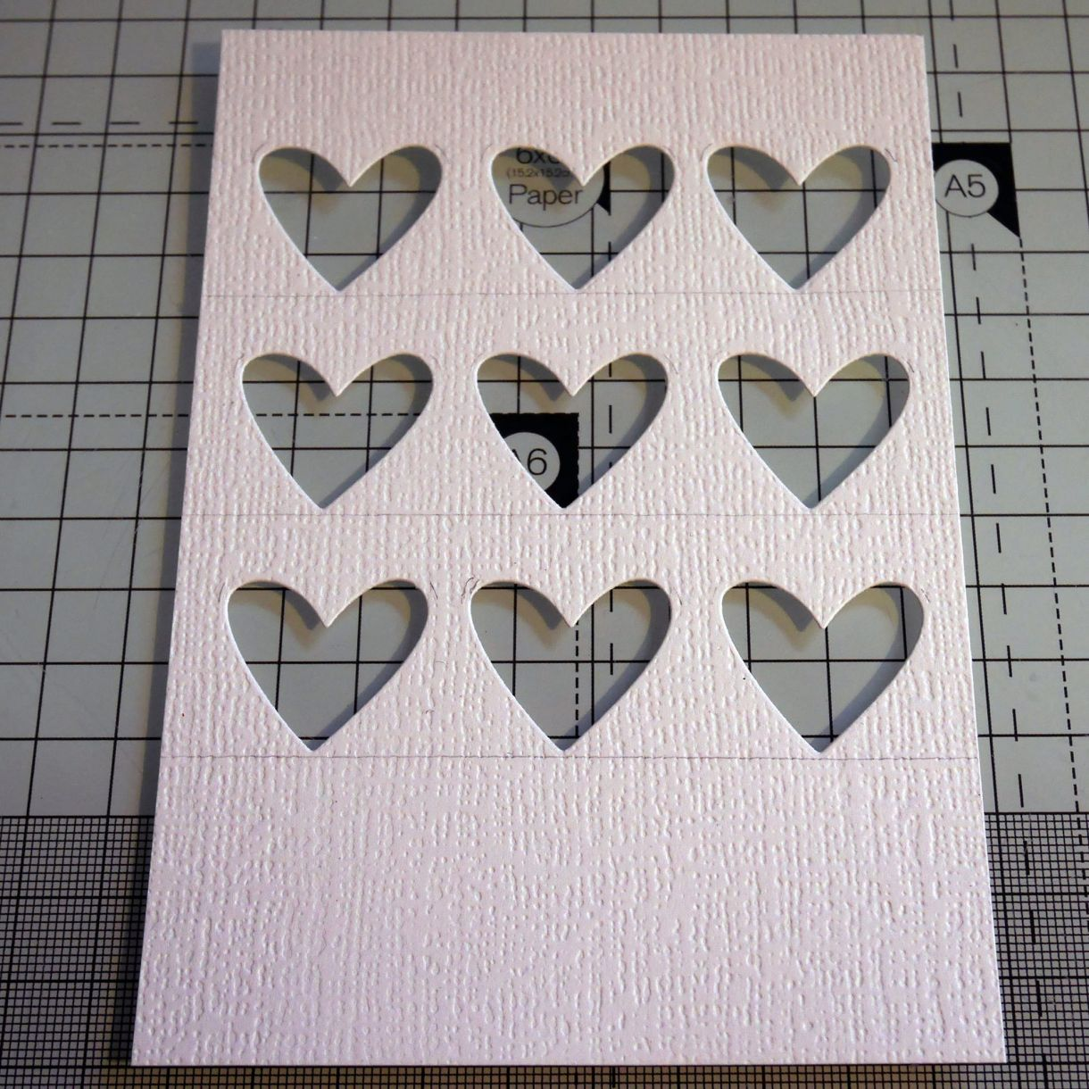 Nicole Grid Of Hearts Card 4
