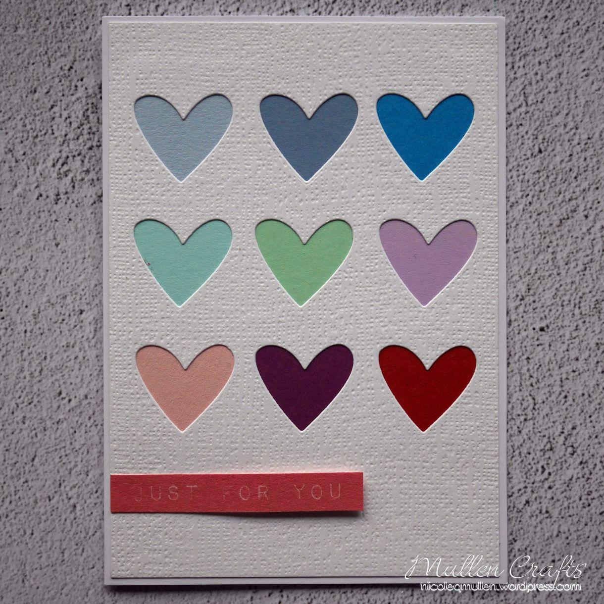 Nicole Grid Of Hearts Card 6