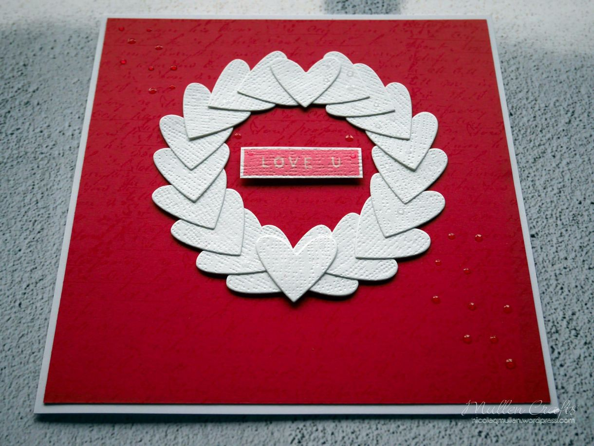 Nicole Heart Wreath Card 5
