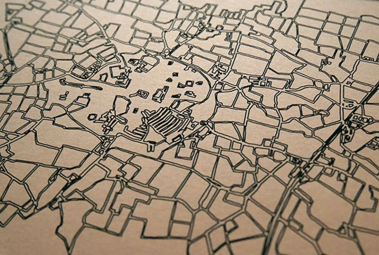 Nicole Laser Cut Map 2