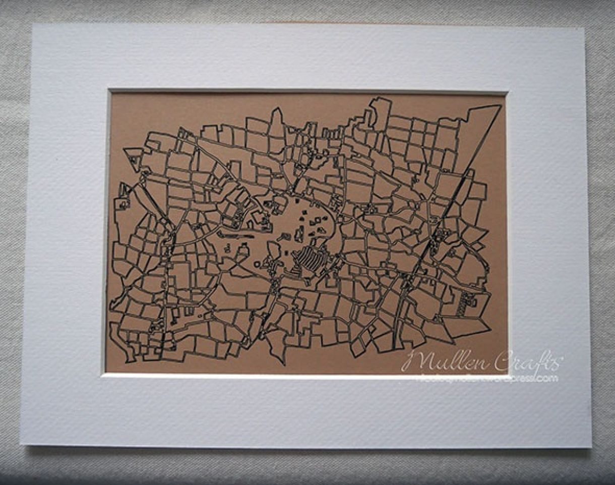 Nicole Laser Cut Map 3