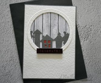 How To Make A New Home Congratulations Card