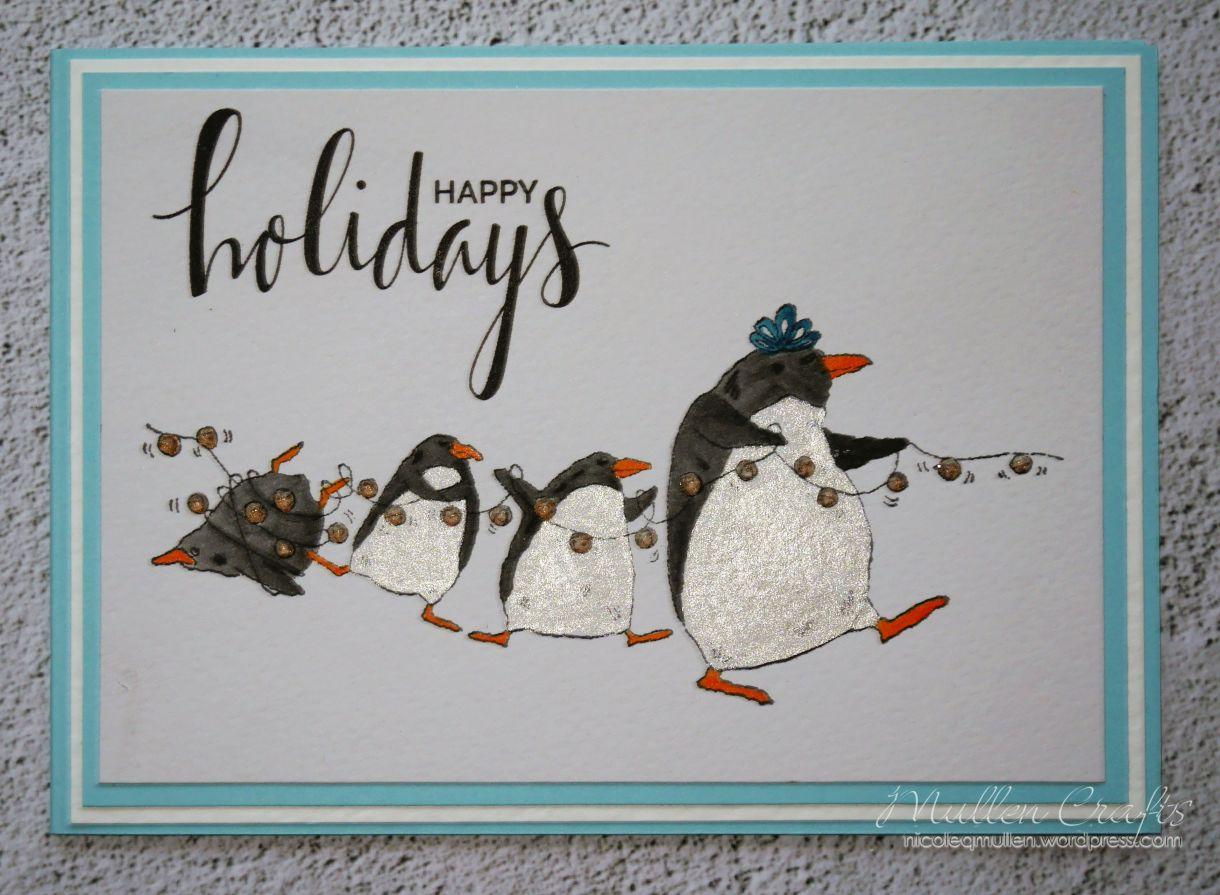 Nicole Penguin Card 1